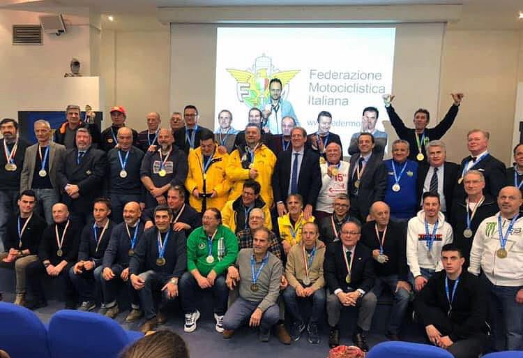 Verona - La premiazione dei campioni epoca 2019