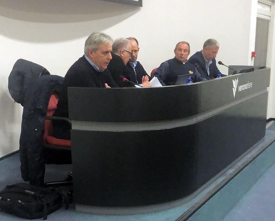 Verona - La riunione organizzativa Fmi