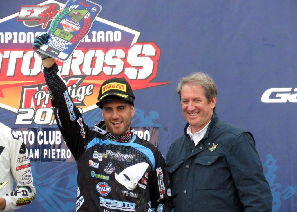 Samuele Bernardini vince il titolo Prestige Mx1