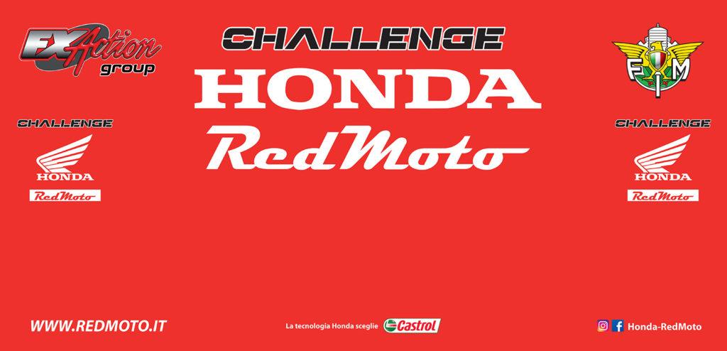 Challenge Honda Red Moto