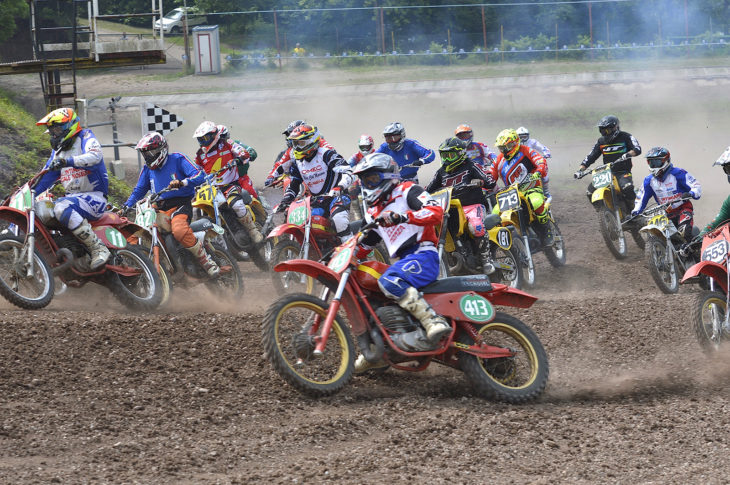 Motocross epoca (ph. Fuoristrada & Motocross d'epoca)