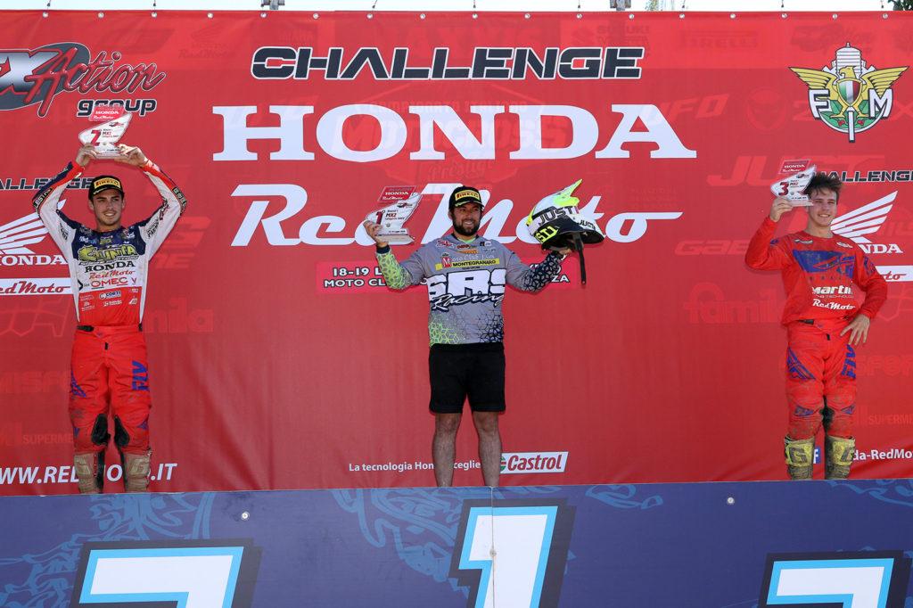 Podio challenge Honda MX2 (ph. Mxreport)