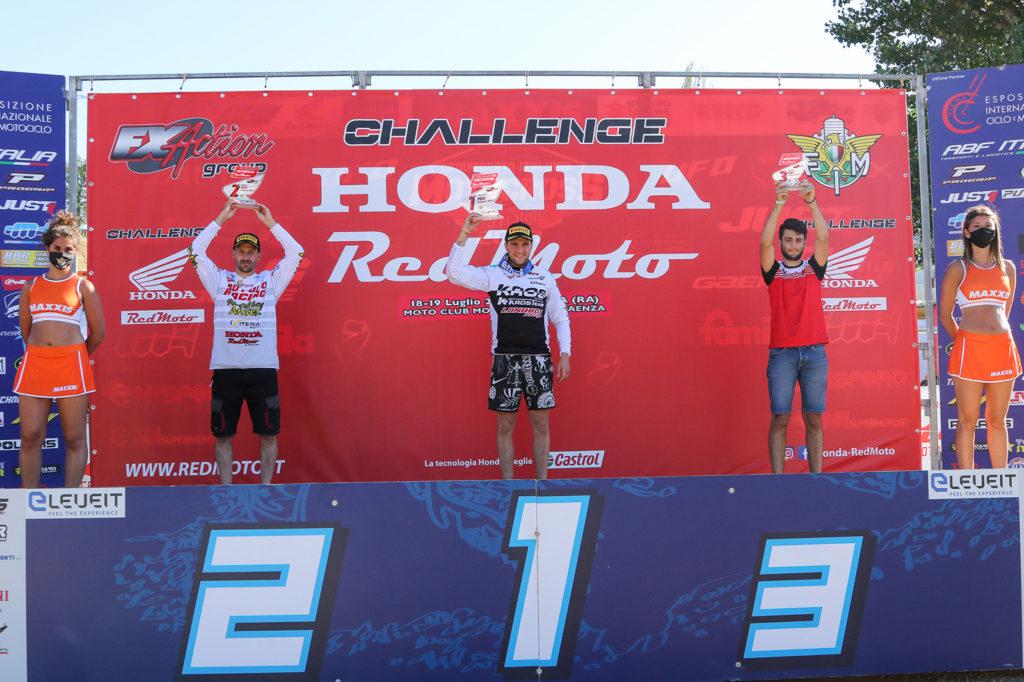 Podio challenge Red Moto (ph. Mxreport)