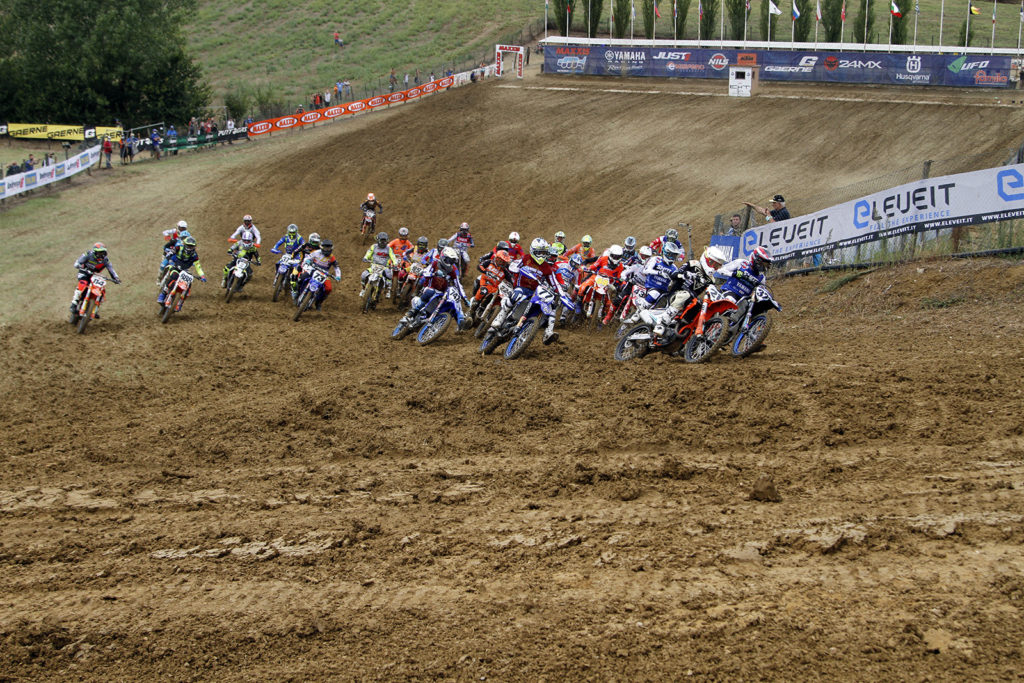 Partenza (ph. Motocrossaddiction)