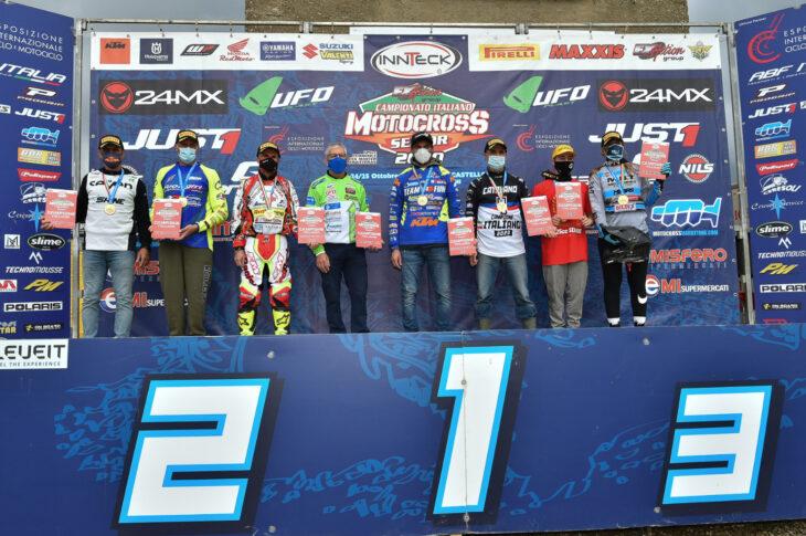I campioni italiani senior 2020 (ph. Mxreport)