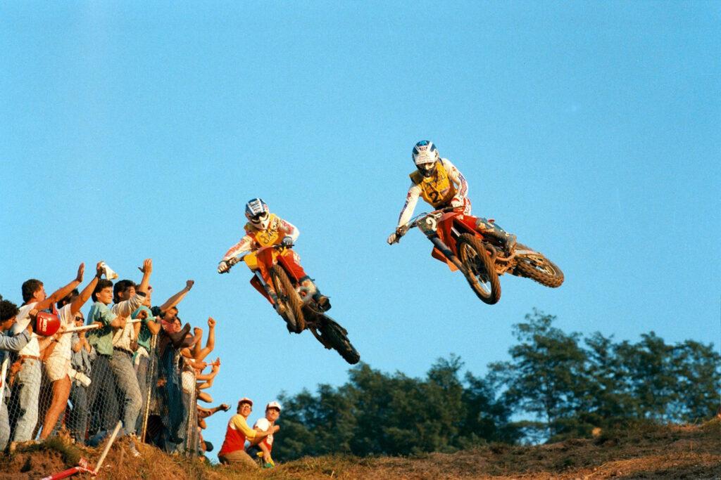 Motocross vintage a Maggiora
